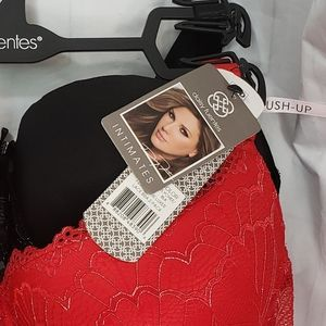 Daisy Fuentes Intimates & Sleepwear - Daisy Fuentes Lot of 2 Lace Bra Size 40D